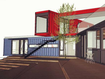 集裝箱營銷中心設計