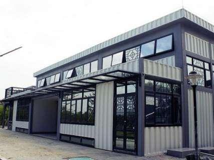 集装箱建筑:新一代绿色环保建筑,创新改变生活