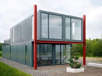 拼装式集装箱房屋按结构组成