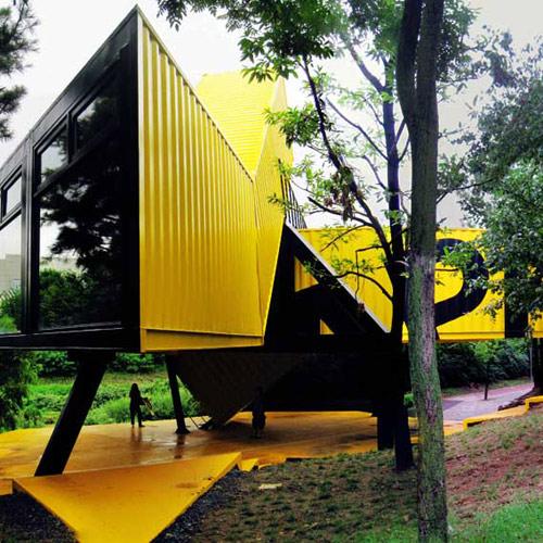 集装箱房设计成民宿,不同材料价钱大概在什么范围?